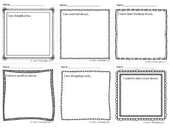 Classroom Communication Notes