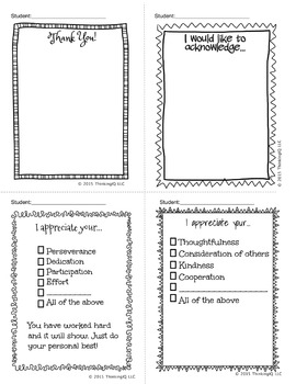 Classroom Communication Notes