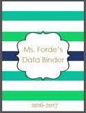 Teacher & Student Data Binder Bundle (Editable)