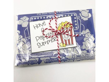 End of Year Summer Gift Tags {Freebie}