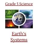 Teacher/Student Handout: Earth's Systems