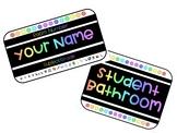 Teacher/Student Name Tags