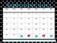 Teacher - Student Planner - Weekly & Monthly - Black White Tweet Bird Theme