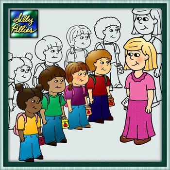 Teacher & Students FREEBIE