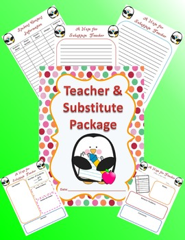 Teacher Substitute Package