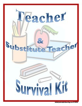 Teacher & Substitute Teacher Survival Kit