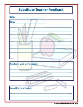 Teacher & Substitute Teacher Survival Kit