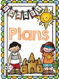 Teacher Summer Planner FREE