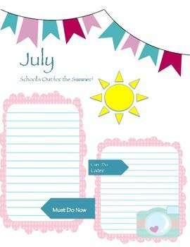 Teacher Summer To-Do List