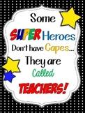 Teacher Super Heroes