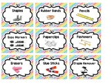 Teacher Supply Labels