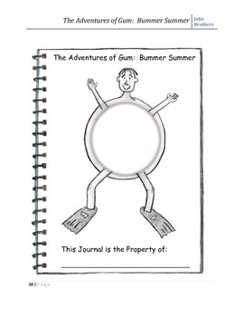 Teacher Support Materials - The Adventures of Gum: Bummer Summer
