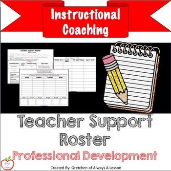 Instructional Coaching: Teacher Support Roster