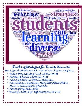 Teacher Support - Teacher Strategies for Diverse Learners