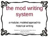 Teacher Support for Mod Writing Program Writing Handbooks