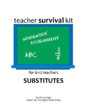 Substitute Kit for 6-12 grade teachers