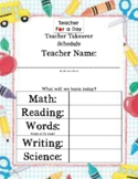 Teacher Takeover Day