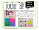 Teacher Talk - A Quick Question Display for Staff Morale and Community Building