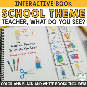 Teacher, Teacher What Do You See? Adapted Books - Dollar Deal!