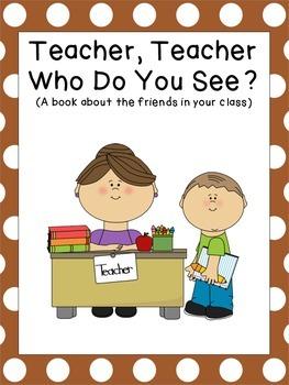 Teacher, Teacher, Who Do You See?