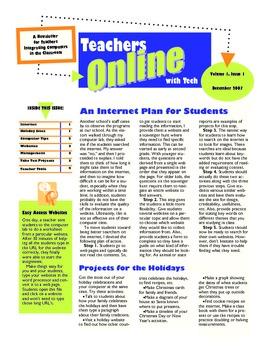 Teacher Tech News: December