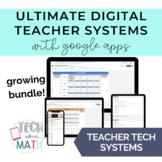 Teacher Technology Organization Systems with Google Apps