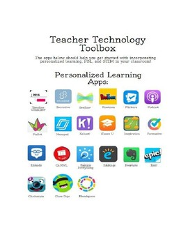 Teacher Technology Toolbox