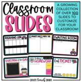 Teacher Templates for Google Slides | Classroom Slides | D