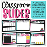 Teacher Templates for Google Slides | Classroom Slides | D