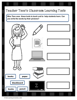 Teacher Tess's Classroom Learning Tools