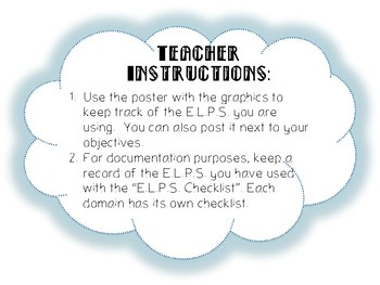Teacher TexasELPSposters