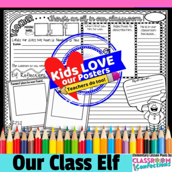 Christmas Writing Activity: Teacher, There's an Elf in our Classroom!