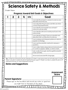 I Can: Fillable, Standards-Based Progress Reports for Science & Social Studies