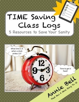 Teacher Clipboard Logs (5 High School Time Saving Tools)