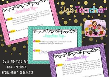 Teacher Tips for new graduates
