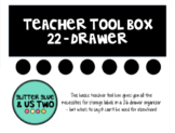 Teacher Tool Box 22 Drawer
