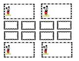 Teacher Tool Box Labels (editable)- Mickey mouse