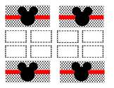 Teacher Tool Box Labels (editable)- Mickey mouse head solid