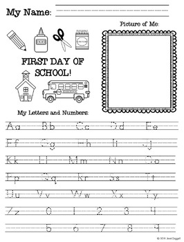 First Day of School for Lower Grades
