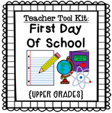 First Day of School for Upper Grades