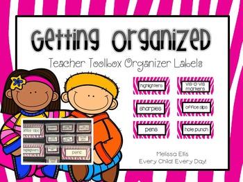 Teacher Toolbox Labels - Bright