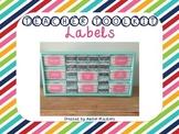 Teacher Tool Kit Labels