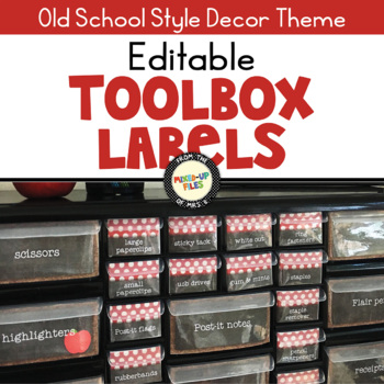 Just Dots Teacher Toolbox Labels