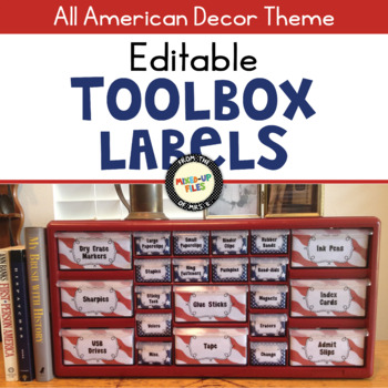 All American Teacher Toolbox Labels