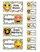 Teacher Toolbox AND Sterilite Drawer Emoji Labels- PowerPoint AND PDF Editable