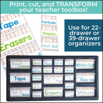 Teacher Toolbox BUNDLE - Rustic Farmhouse Chic