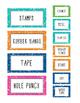 Teacher Toolbox - Bright Labels