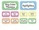 Teacher Toolbox- CHEVRON- EDITABLE- organizing, labels, tools