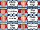 Teacher Toolbox & Classroom Supply Labels - Popcorn Theme