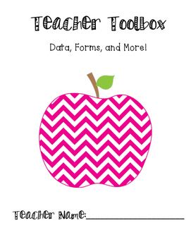 Teacher Toolbox - Data Forms for Upper Elementary